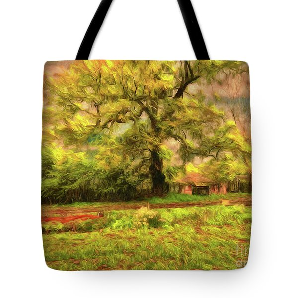 Tote Bag featuring the photograph Rural Rustic by Leigh Kemp