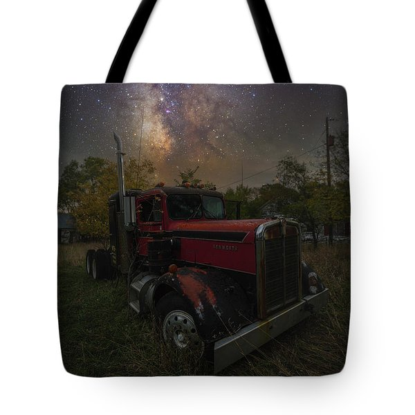Tote Bag featuring the photograph Rusty  by Aaron J Groen