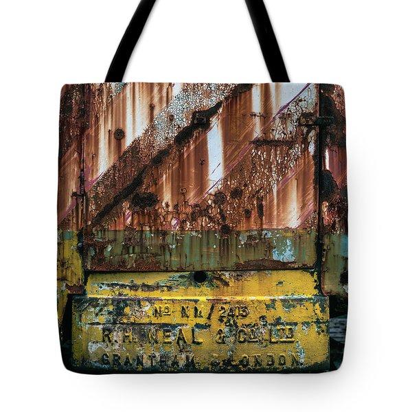 Rusty Crane Tote Bag