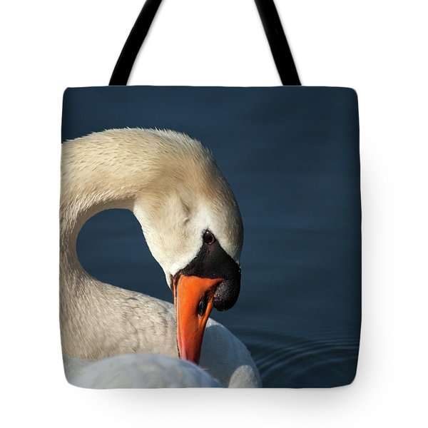 S For Swan Tote Bag