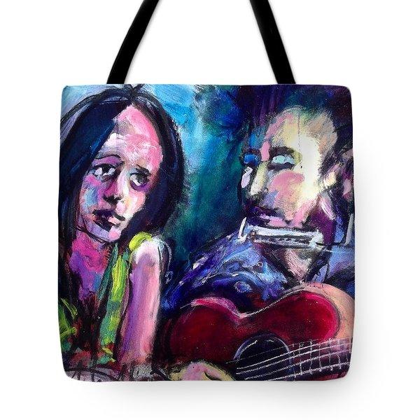 Sad Eyed Lady Tote Bag