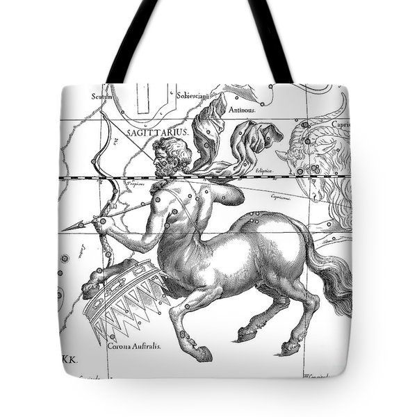 Sagittarius, The Zodiacal Constellation Of The Archer Tote Bag