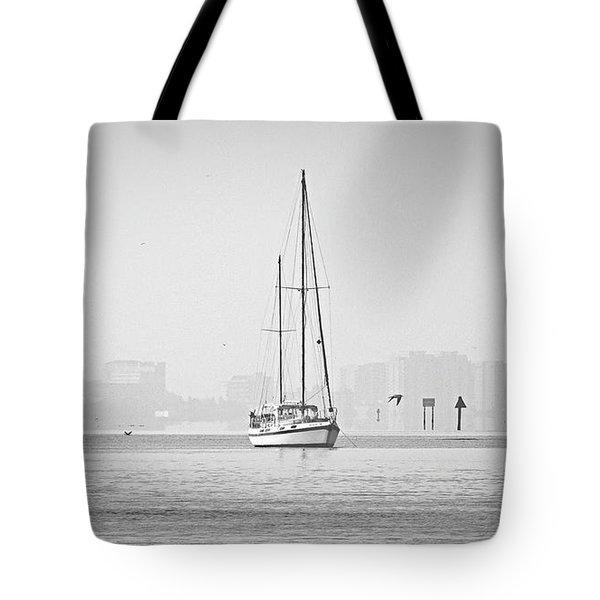 Sail Out Of Sarasota Tote Bag