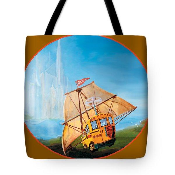 Sailbus Tote Bag
