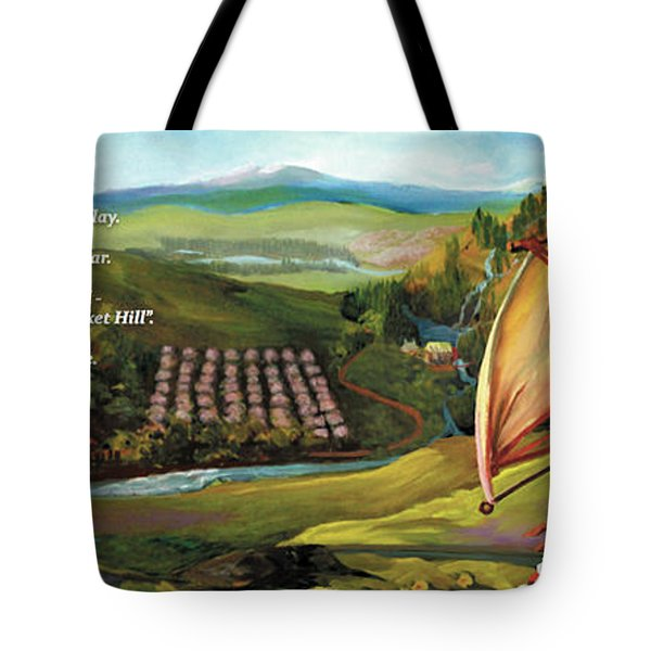 Sailbus Flight Home Tote Bag