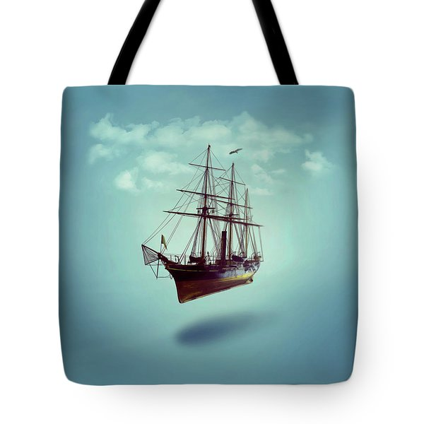 Sailed Away Tote Bag