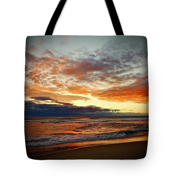 Tote Bag featuring the photograph Early Autumn Morning by Don Moore
