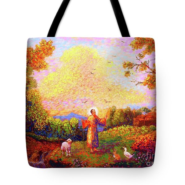 Saint Francis Of Assisi Tote Bag