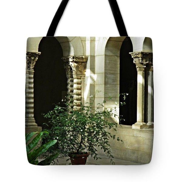 Saint- Guilhem Cloister Tote Bag