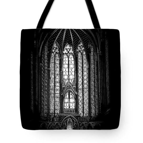 Sainte-chapelle Tote Bag