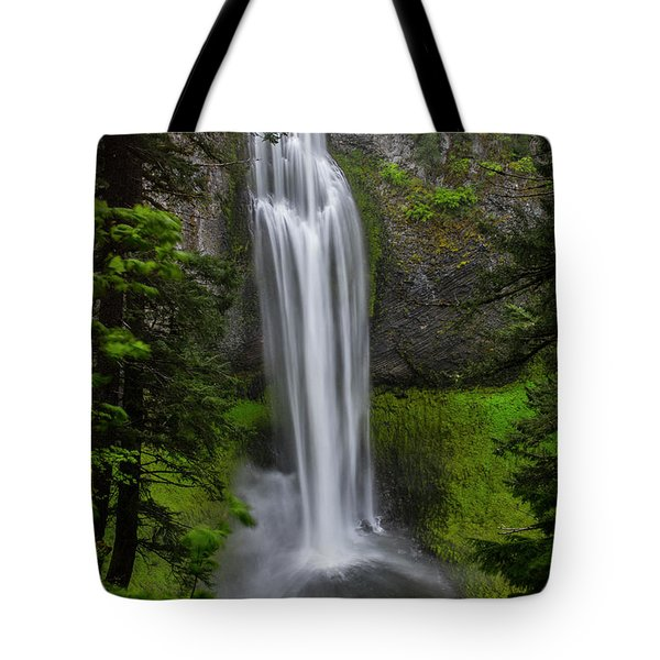 Tote Bag featuring the photograph Salt Creek Falls by Matthew Irvin