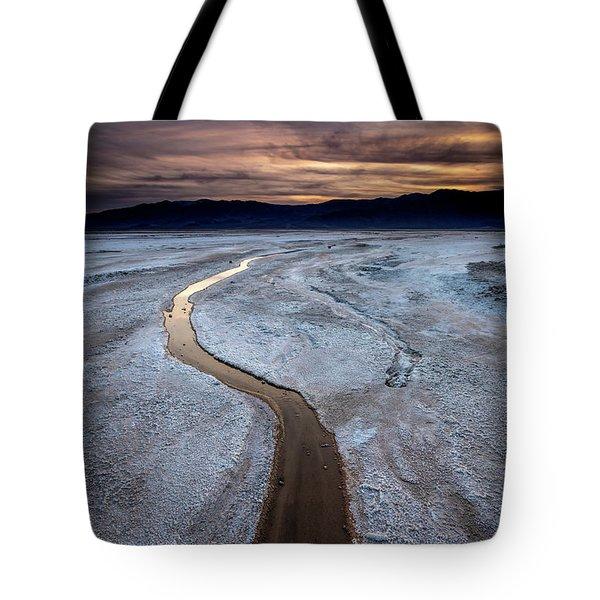 Salt Creek Flats IIi Tote Bag