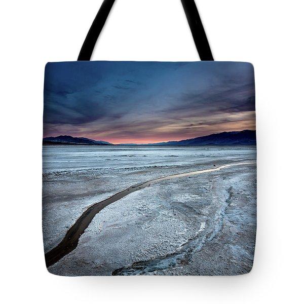 Salt Creek Flats Iv Tote Bag