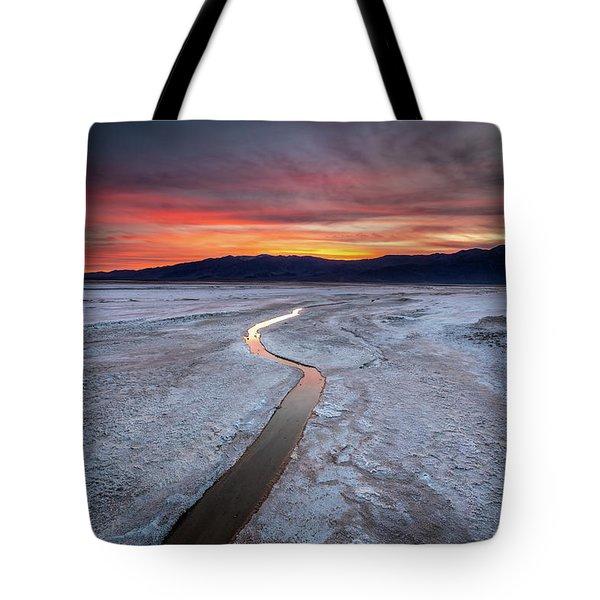 Salt Creek Flats Tote Bag