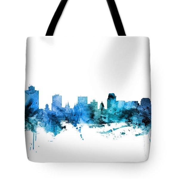 Salt Lake City Utah Skyline Tote Bag