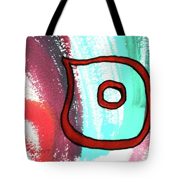 Tote Bag featuring the painting Samech S4 by Hebrewletters Sl
