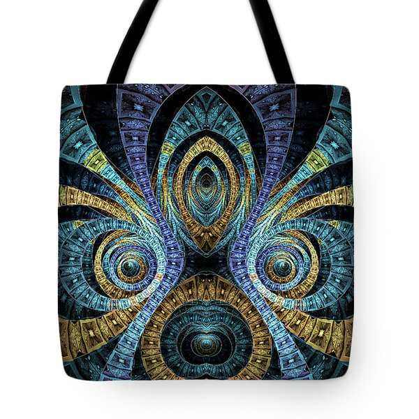 Tote Bag featuring the digital art Samuel by Missy Gainer