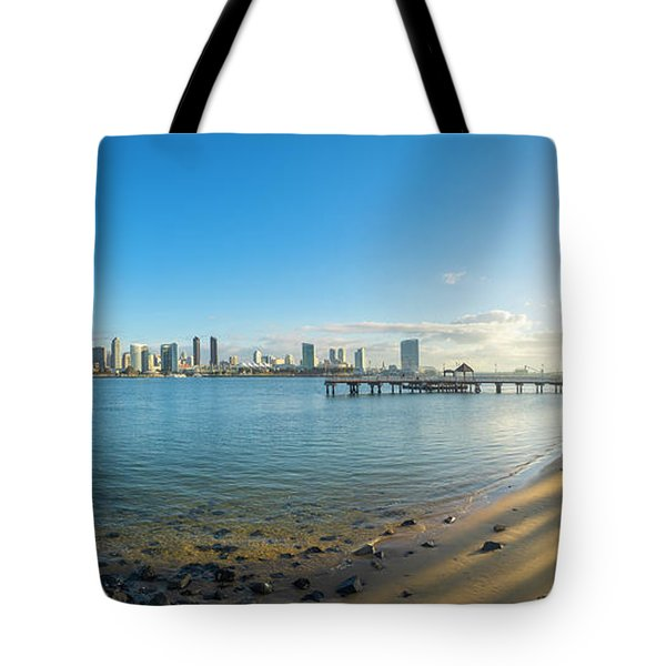 San Diego Bay - Panorama Tote Bag