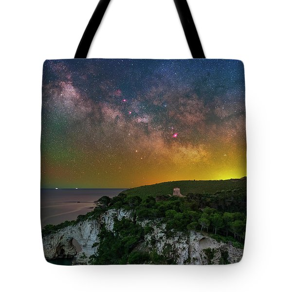 San Felice Arch And Tower Tote Bag