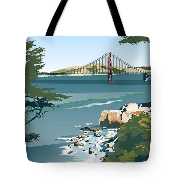 San Francisco Lands End Tote Bag