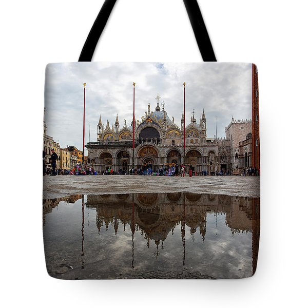 San Marco Cathedral Venice Italy Tote Bag