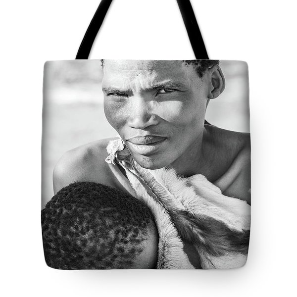 San Mother And Child Tote Bag