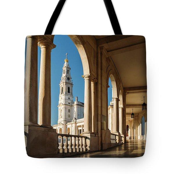 Sanctuary Of Fatima, Portugal Tote Bag