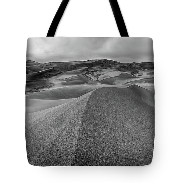 Tote Bag featuring the photograph Sand Dune Ridge by Joe Sparks