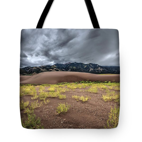 Tote Bag featuring the photograph Sand Dunes by Joe Sparks
