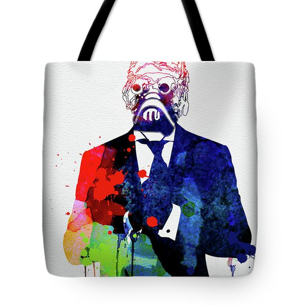 Sand Warrior In A Suite Watercolor Tote Bag