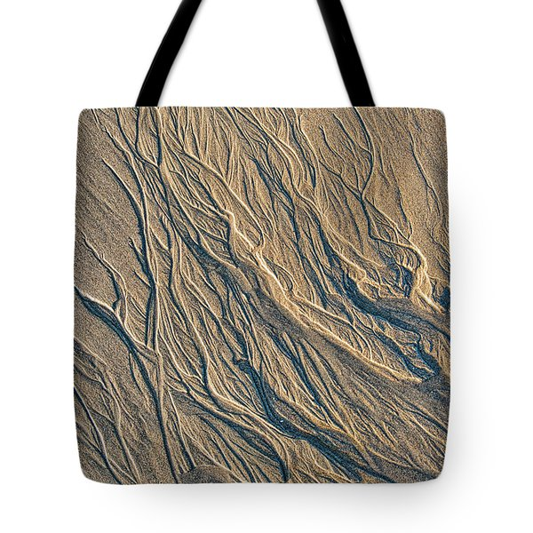 Tote Bag featuring the photograph Sandmotion by Tim Gainey