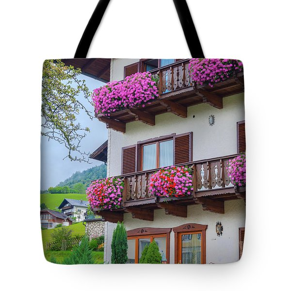 Sankt Wolfgang House Tote Bag