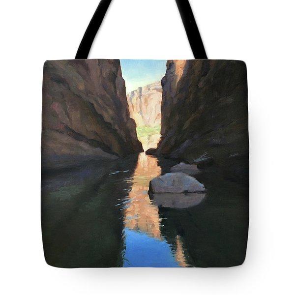 Santa Elena Canyon, Big Bend Tote Bag