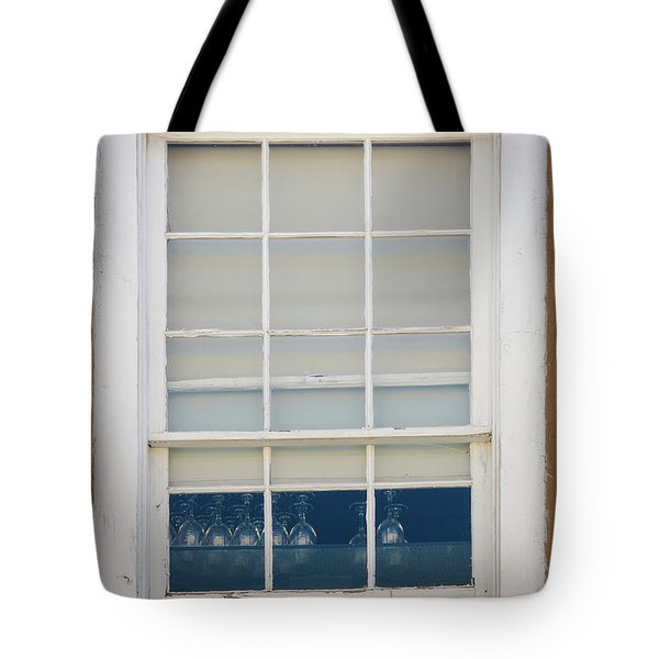 Tote Bag featuring the photograph Santa Fe Window by Jeff Phillippi