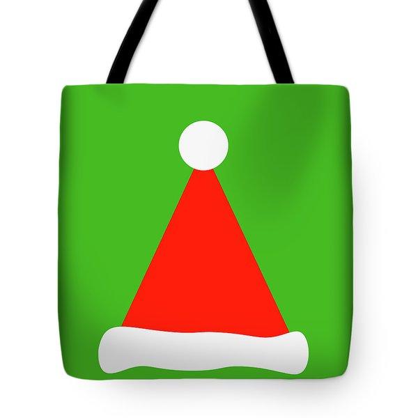 Santa's Hat Tote Bag