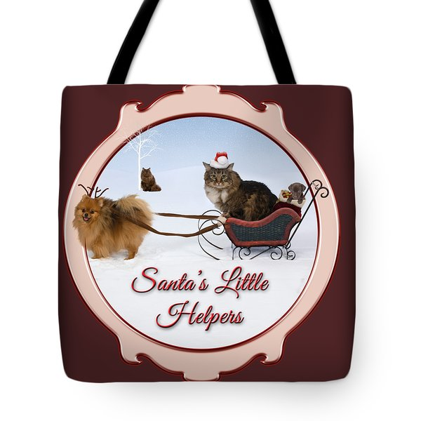 Santa's Little Helpers Tote Bag