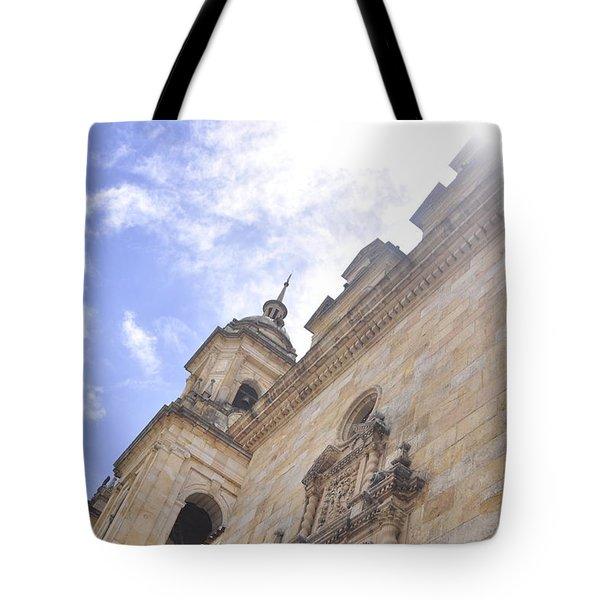 Santo Y Soleado Tote Bag