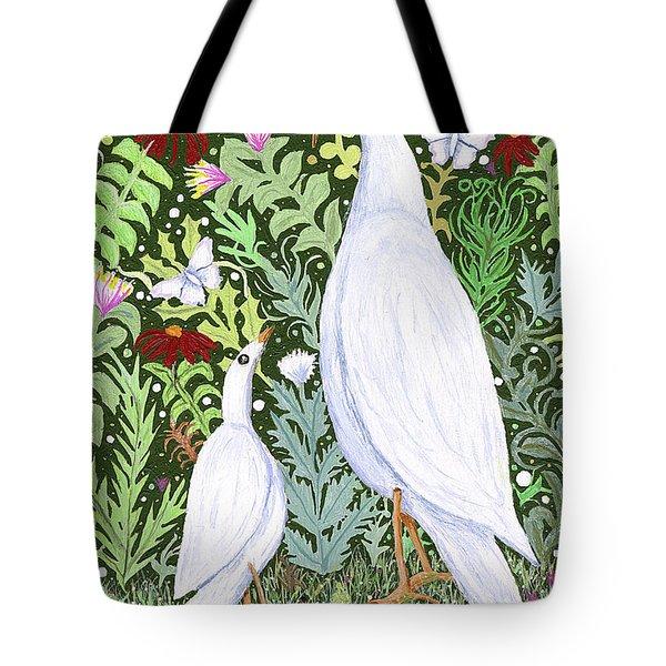Sapientes Pacis Birds Tote Bag