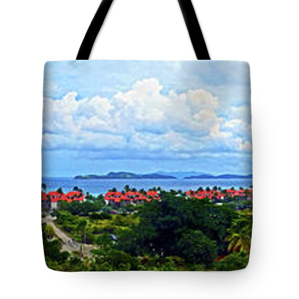 Sapphire Panorama Tote Bag