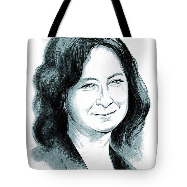 Sara Gilbert Tote Bag