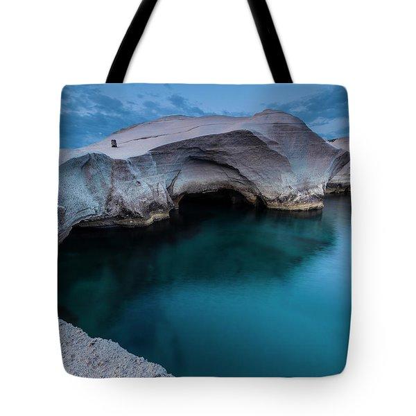 Sarakiniko Tote Bag