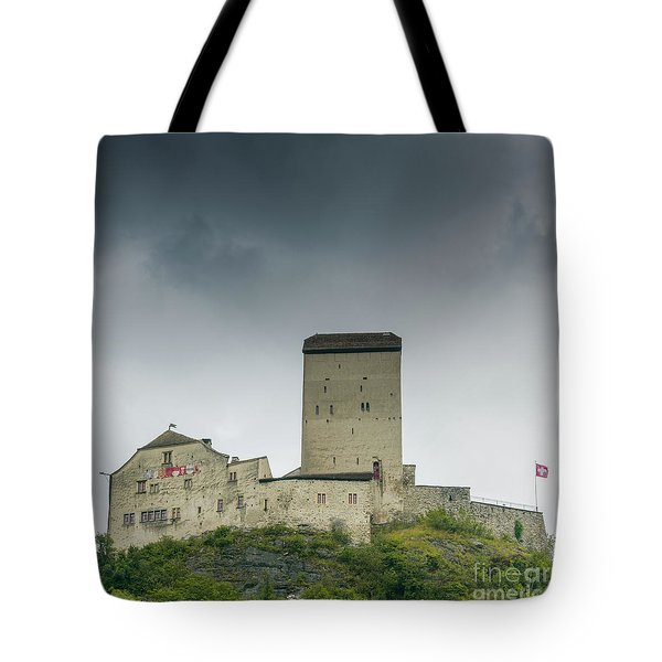 Sargans Castle Tote Bag