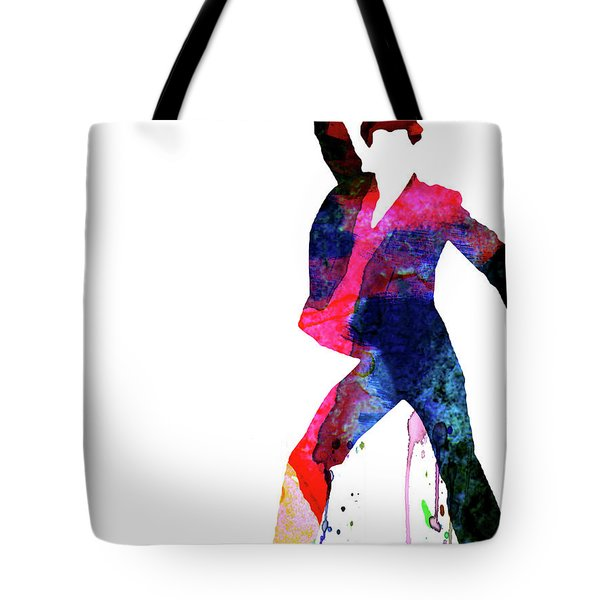 Saturday Night Fever Watercolor Tote Bag
