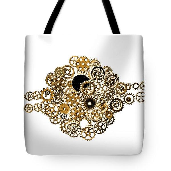 Saturn Rings Tote Bag