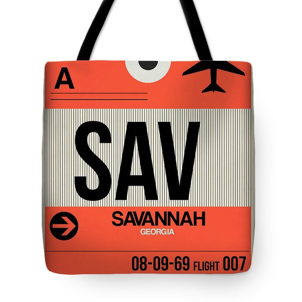 Sav Savannah Luggage Tag I Tote Bag