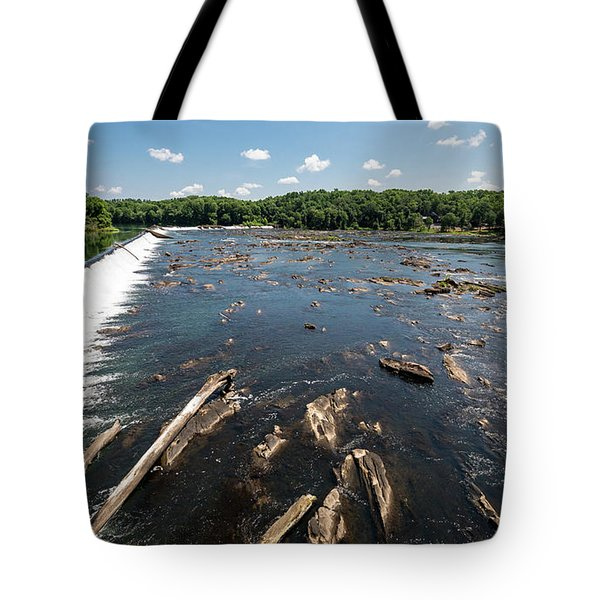 Savannah River Rapids - Augusta Ga Tote Bag