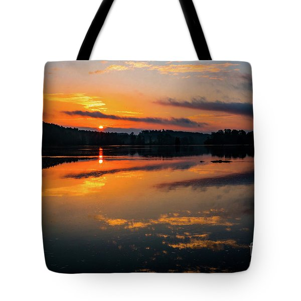 Savannah River Sunrise - Augusta Ga 2 Tote Bag