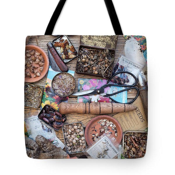 Saved Flower Seeds Tote Bag