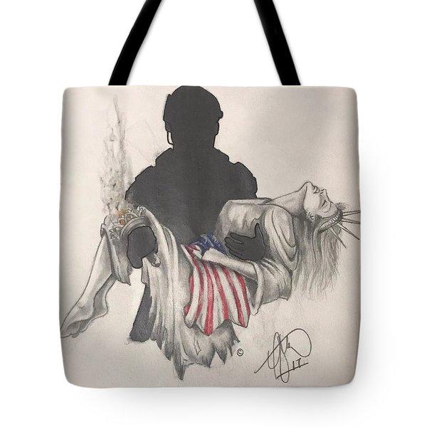 Saving Liberty Tote Bag
