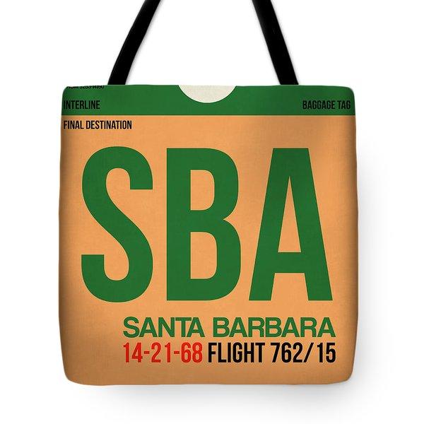 Sba Santa Barbara Luggage Tag I Tote Bag